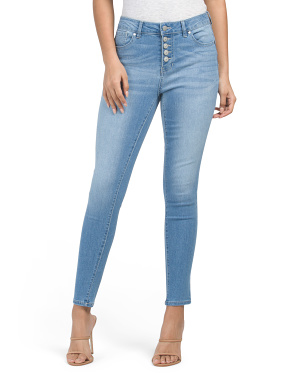 High Waist Recycled Booty Lifter Skinny Jeans