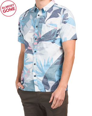 Tropical Flow Short Sleeve Shirt