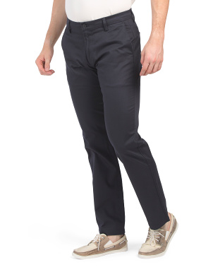 New Signature Creaseless Straight Fit Pants