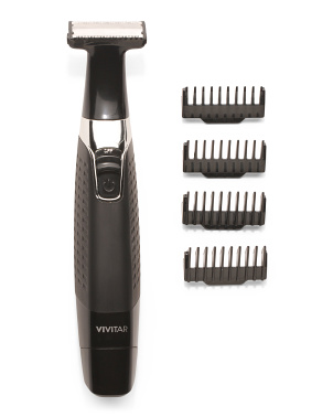 Men's Personal Single Blade Electric Trimmer