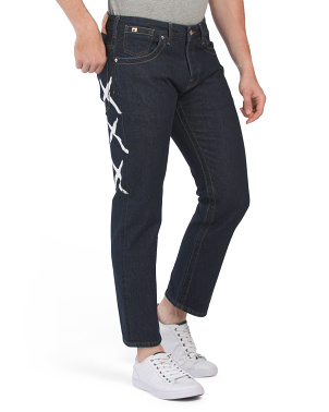 Vernon Plus  Digital Beach Denim Pants