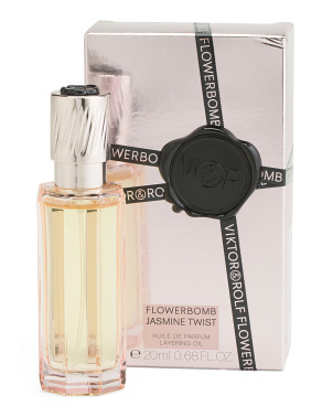 Made In France 0.68oz Flowerbomb Jasmine Twist Layering Oil