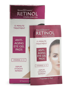 Made In Korea 10pk Retinol Eye Gel Pads