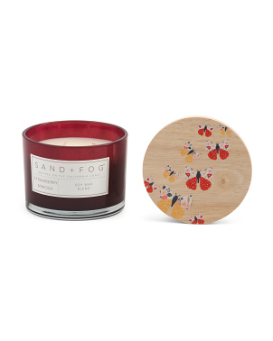 12oz Strawberry Mimosa Candle