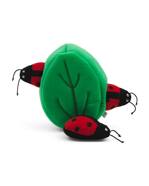 Ladybugs In Leaf Burrow Pet Toy