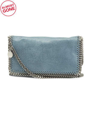 Made In Italy  Falabella Shaggy Deer Crossbody