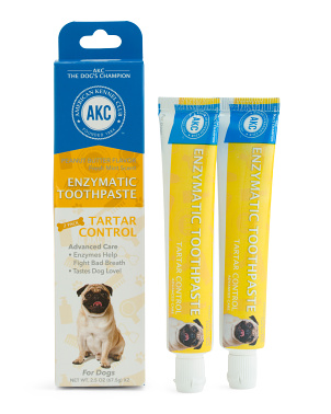 Set Of 2 Tartar Control Peanut Butter Flavor Toothpaste