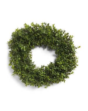 15in New Boxwood Wreath
