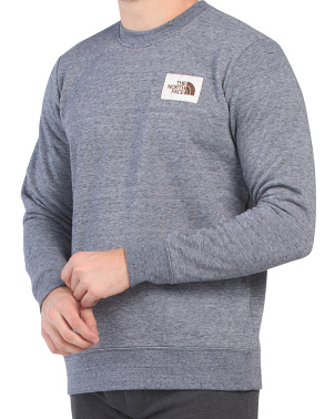 Heritage Patch Crew Neck Sweatshirt