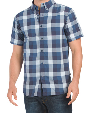 Short Sleeve Monanock Button Down Shirt