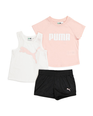 Toddler Girls 3pc Short Set