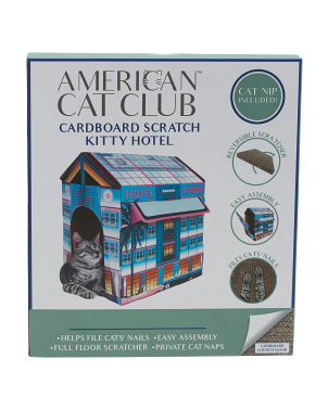 Miami Vibes Hotel Cat Scratcher House