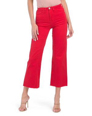 Pamier High Rise Ankle Jeans
