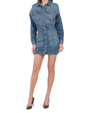 Committed To Fit Denim Dress