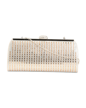 Evening Clutch With Chain Strap