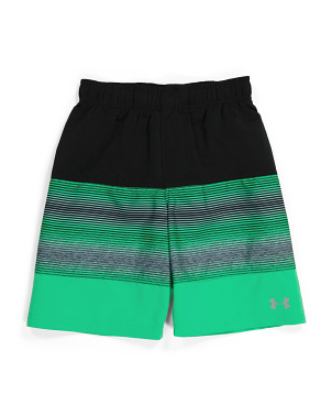 Big Boy Wave Up Color Block Volley Swim Shorts