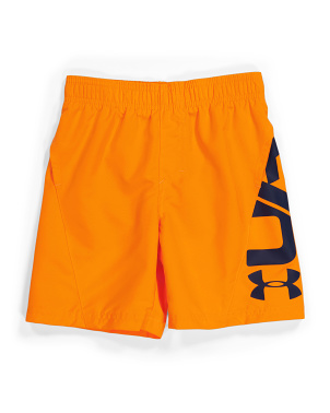 Little Boy Icon Volley Swim Shorts