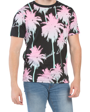 Paradise Lost All Over Print Palm Tee