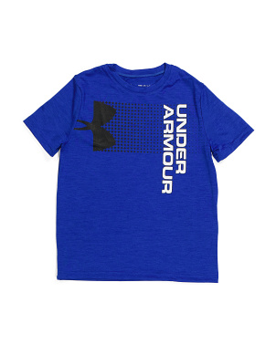 Boys Tech Cross Fade Tee