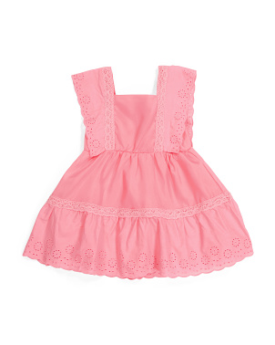 Toddler Girls Eyelet Dress