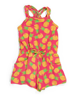 Toddler Girls Pineapple Romper