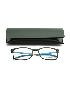 Men's 56mm Designer Optical Glasses