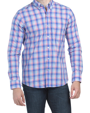 Westend Plaid Long Sleeve Woven Shirt