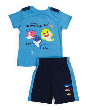 Toddler Boy 2pc Mesh Shorts Set