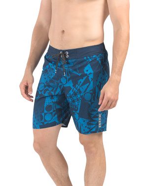 Allover Geo Board Shorts