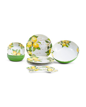 Botanical Lemon Dinnerware Collection