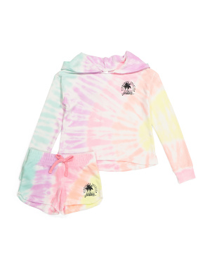 Girls Tie Dye Permanent Vacation Collection