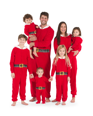 Holiday Famjams Microfleece Family Sleepwear Collection
