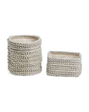 Sumak Woven Basket Collection