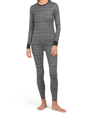 Nordic Print Base Layer Collection