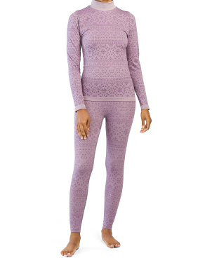 Powderline Seamless Mock Neck And Base Legging Collection