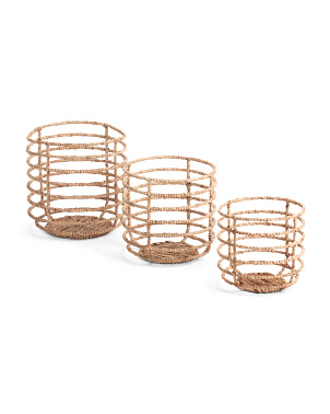 Circle Lines Basket Collection