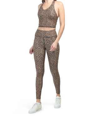 Animal Print Bra And Leggings Collections