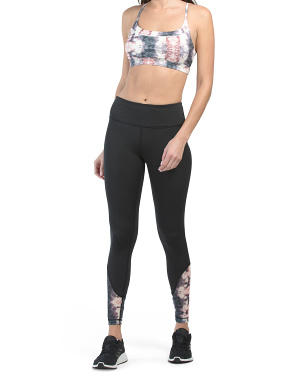 Tie Dye Sports Bra And Leggings Collection
