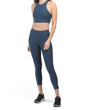 Athena Cropped Top And Warm Up Leggings Collection