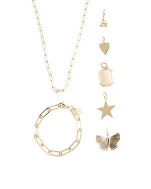 Build Your Own Charm Jewelry Collection