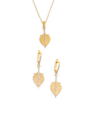 Gold And Diamond Feather Collection