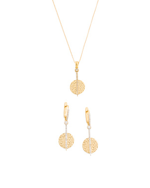 Gold And Diamond Circle Collection